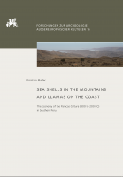Titelbild für Sea shells in the mountains and llamas on the coast.: The economy of the Paracas Culture (800 to 200 BC) in Southern Peru