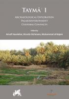 Image  Taymāʾ. Multidisciplinary Series on the Results of the Saudi-German Archaeological Project